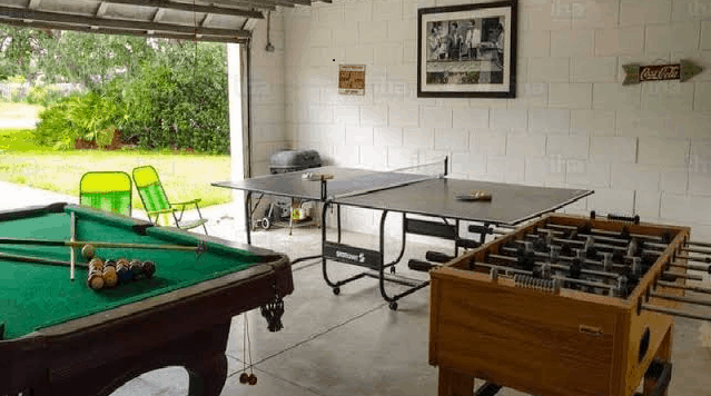 11 Ways To Turn Your Garage Into A Gamehouse